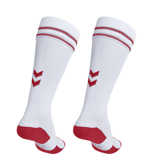 Hummel Element Sock White/Red