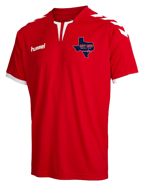 Hummel Core Poly Jersey Red Katy 1895