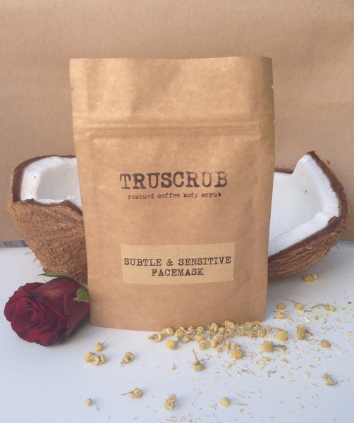 Grooming - Truscrub Subtle And Sensitive Facemask 30g
