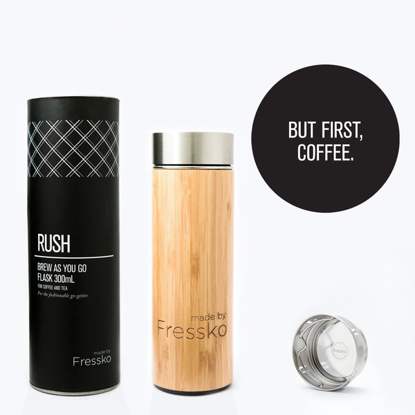 Lifestyle - Fressko RUSH Bamboo Flask 300ml