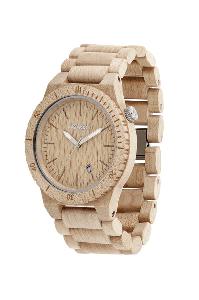 Men Accessories Woman Accessories Sunglasses, Unisex Sunglasses - WeWood Beta Beige Wood Watch