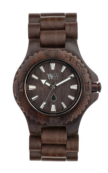 Men Accessories Woman Accessories Sunglasses, Unisex Sunglasses - WeWood Date Chocolate Wood Watch