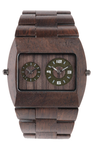 Men Accessories Woman Accessories Sunglasses, Unisex Sunglasses - WeWood Jupiter Chocolate Wood Watch