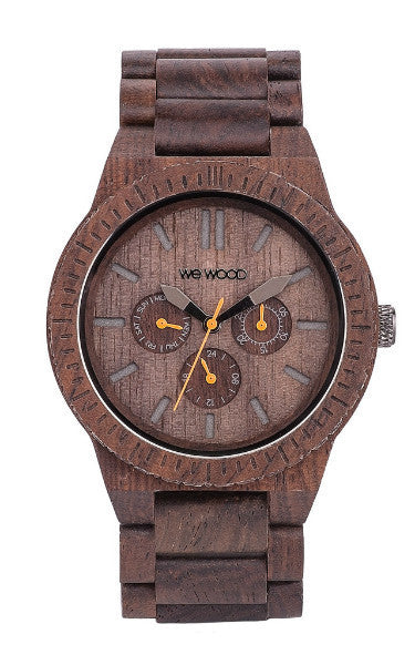 Men Accessories Woman Accessories Sunglasses, Unisex Sunglasses - WeWood Kappa Chocolate Wood Watch