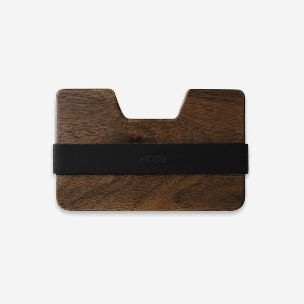 Mens Accessories - Madera Poquito Dark Walnut Wallet