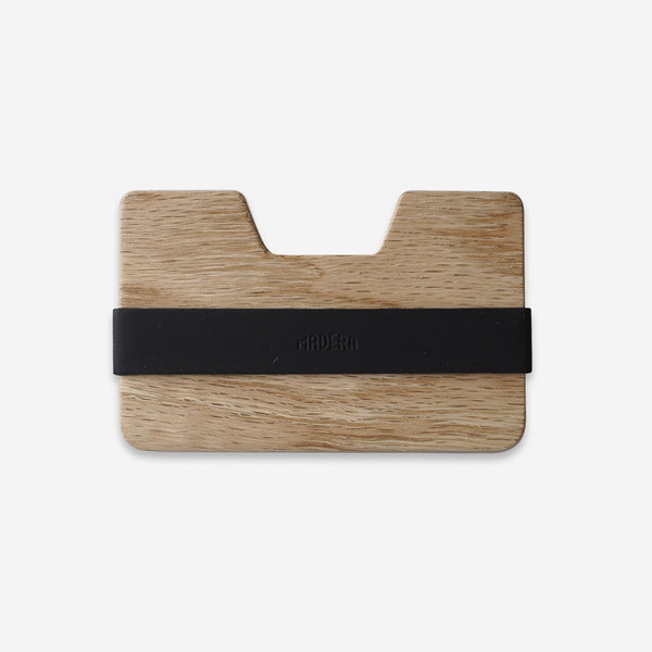 Mens Accessories - Madera Poquito Light Oak Wallet