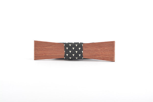 Mens Accessories - Peggy And Finn Brooklyn Jarrah Skinny Bowtie
