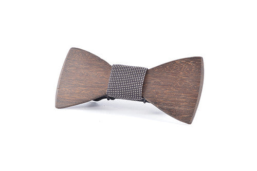 Mens Accessories - Peggy And Finn Charlton Blackbutt Classic Bowtie