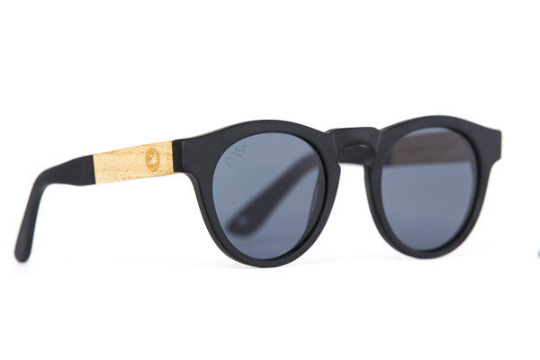 Sunglasses - Proof Banks ECO Black Polarised Sunglasses