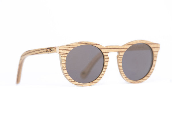 Sunglasses - Proof Hayburn Zebra Gold Mirrored Lens Sunglasses