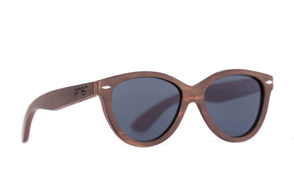 Sunglasses - Proof McCall Stained Bamboo Sunglasses