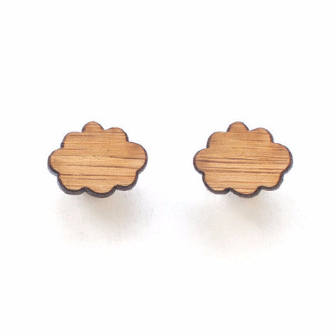 Woman Accessories - One Happy Leaf Cloud Studs