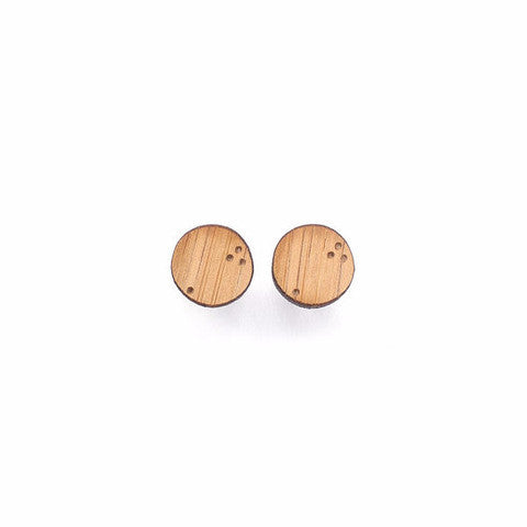 Woman Accessories - One Happy Leaf Constellation Studs