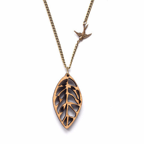 "One Happy Leaf ""Leaf"" Necklace"