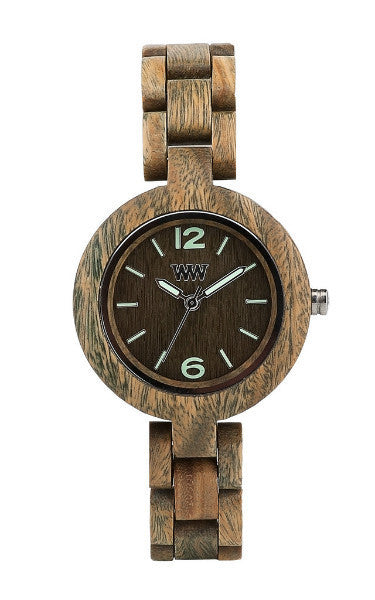 Woman Accessories,Sunglasses - WeWood Mimosa Army Wood Watch