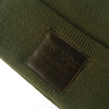 Load image into Gallery viewer, IMMANUEL | ARMY BEANIE
