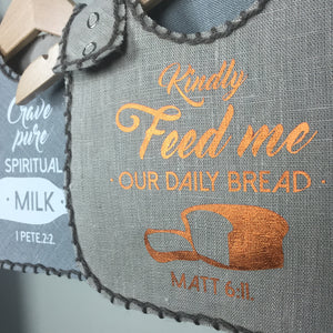 BREAD & MILK | REVERSIBLE BIB