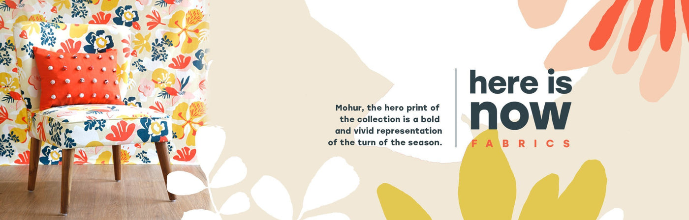 d072b2200e578 Mohur, the hero print of the Here Is Now Collection is a bold and vivid  representation of the turn of the season. We've crafted over a dozen bold  prints, ...