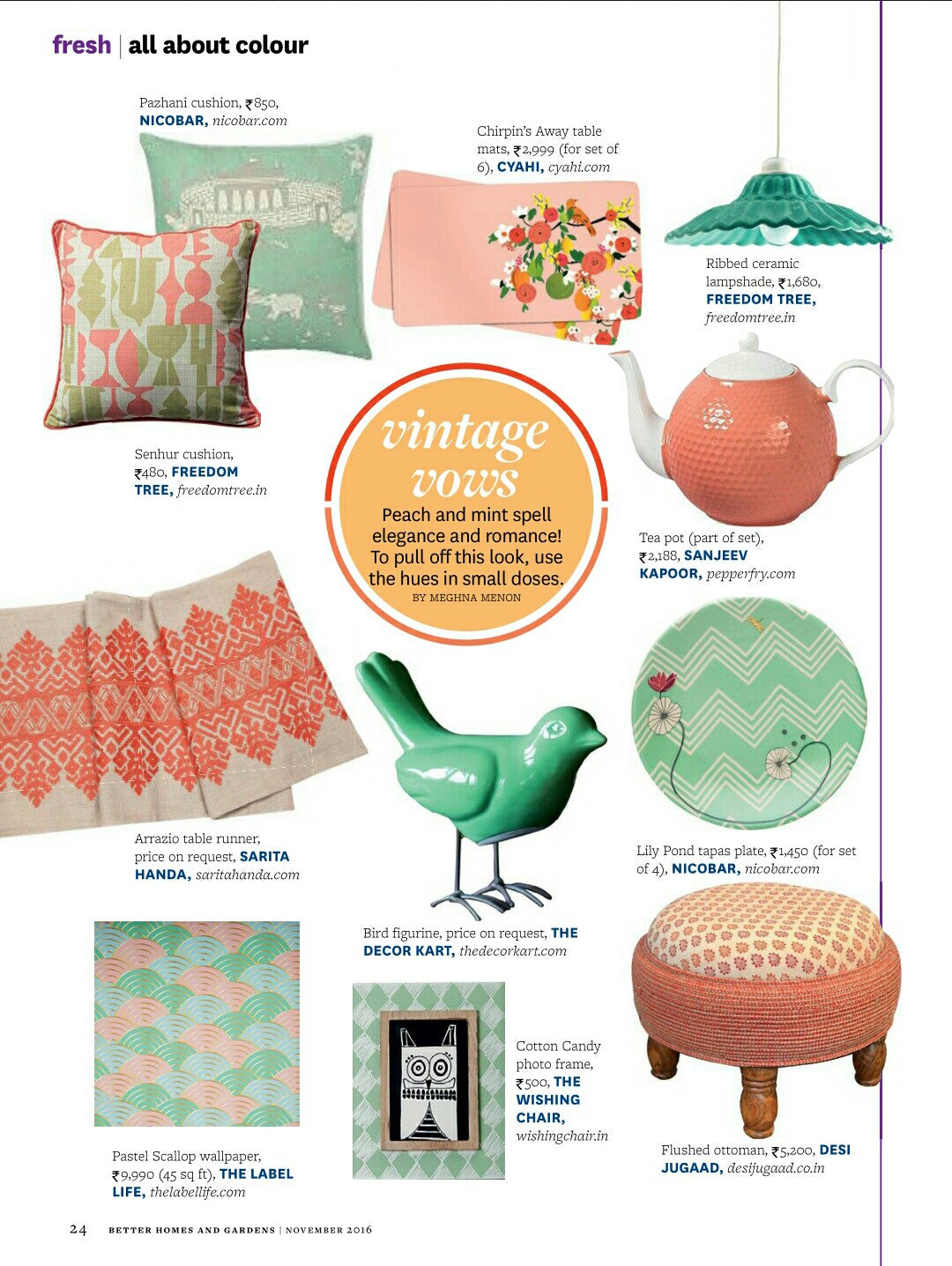 Better Homes & Gardens Nov 2016