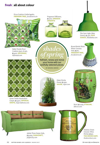 Better Homes & Gardens,Page No-22,March-2017