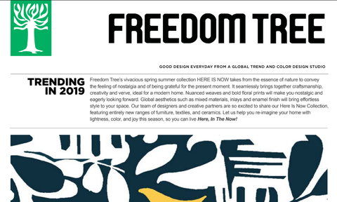 Spring Summer 2019 Trend Guide From Freedom Tree