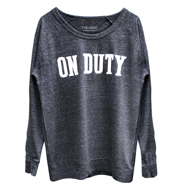 ON DUTY long sleeve sweater