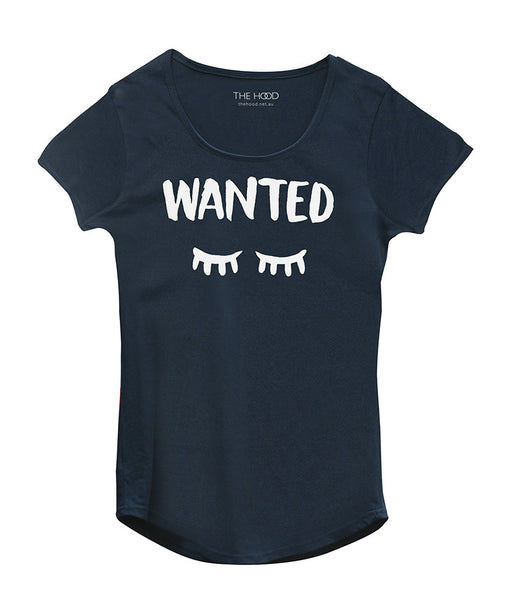 WANTED SLEEP TEE (Navy)