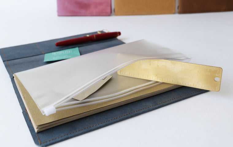 A5 Transparent PVC Pocket Folder