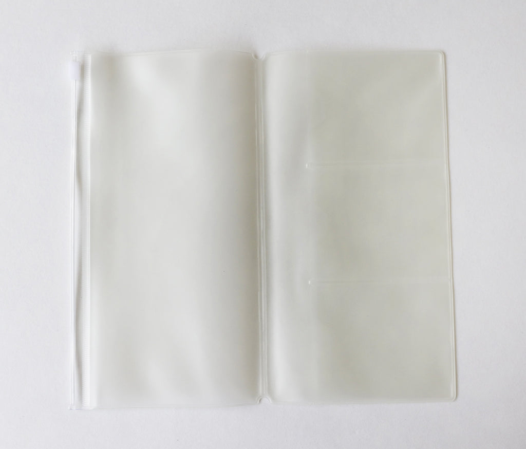 Slim Transparent PVC Pocket Folder