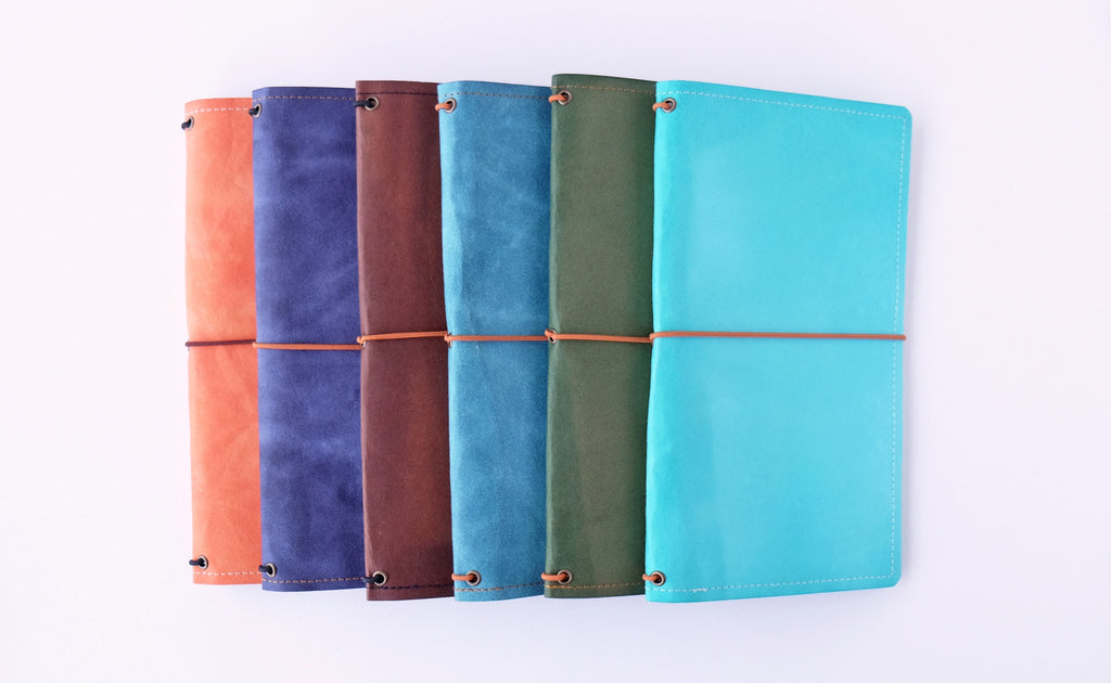 Slim Washable Kraft Paper Traveler's Notebook