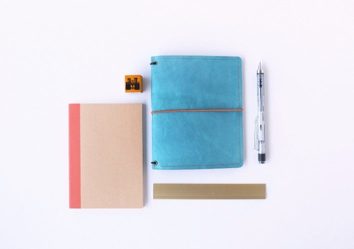A6 Size Washable Kraft Paper Travel Notebook Cover