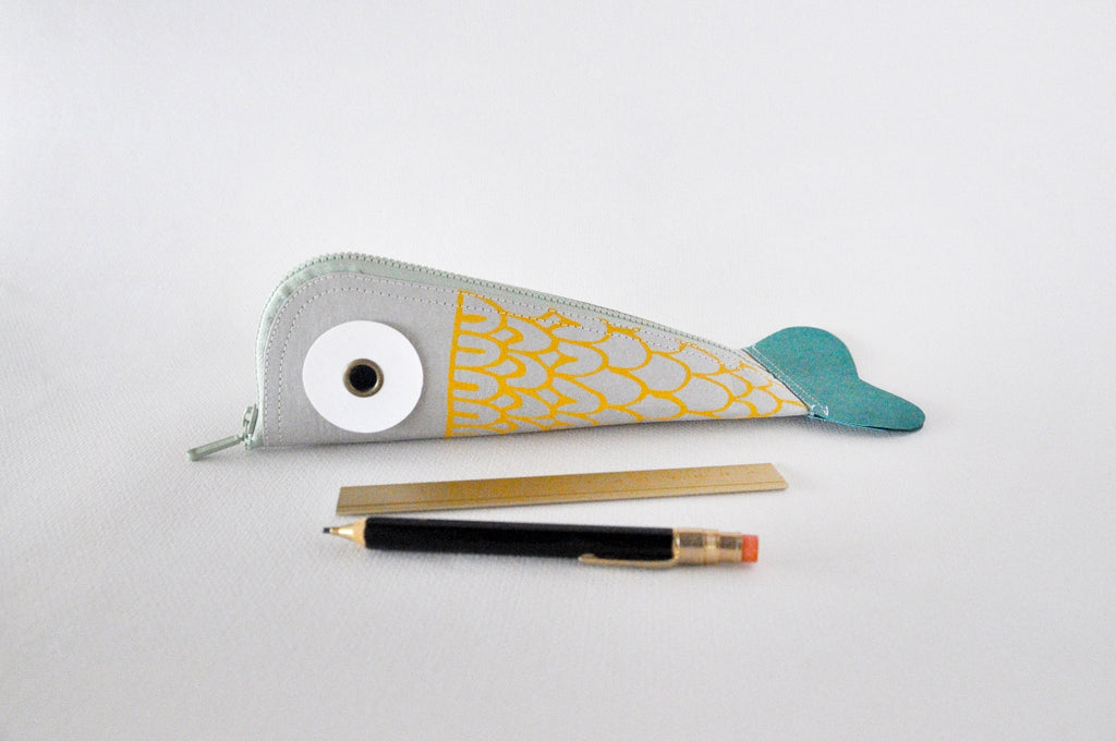 Koi Fish Pencil Case