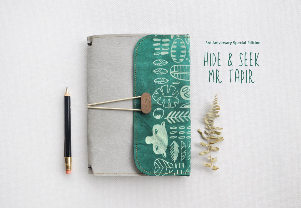 Hide & Seek Mr Tapir NotteeBook 1+2 Set (Special Edition)
