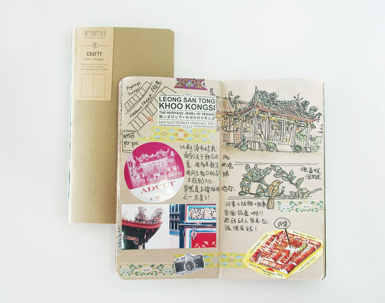 Slim Crafty Notebook Insert