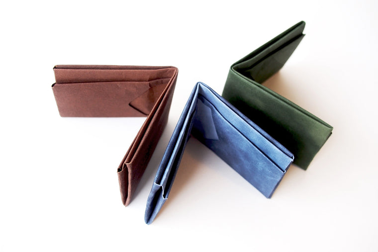 Washable Craft Paper Wallet