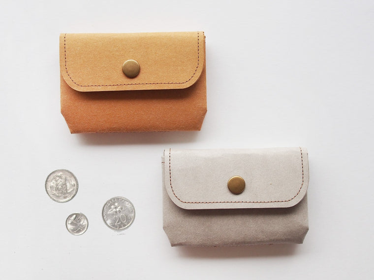 Washable Craft Paper Coin Purse