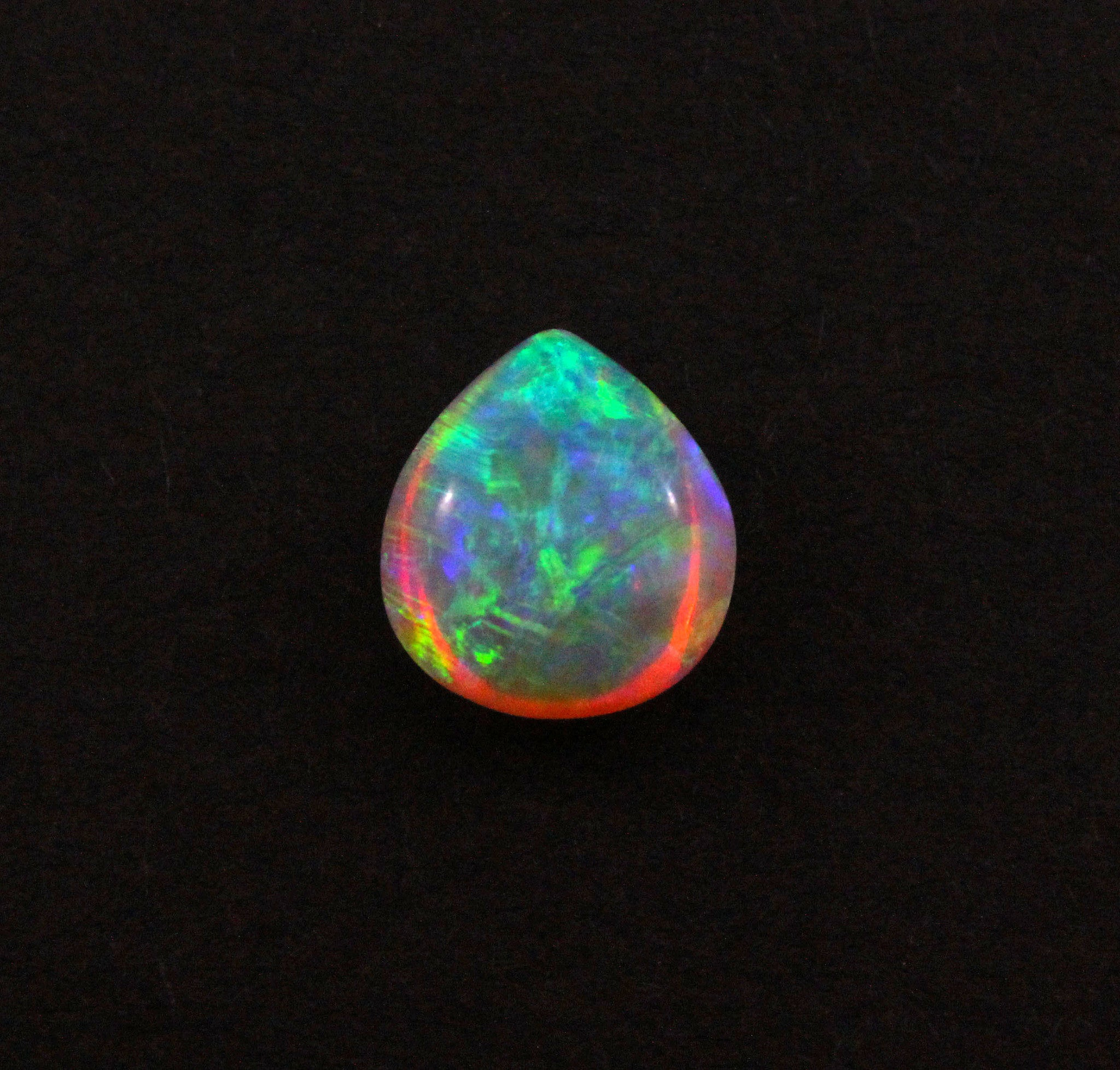 Australian jelly opal 3.36 carat loose gemstone - Double sided loose gemstone - Sarah Hughes - 7