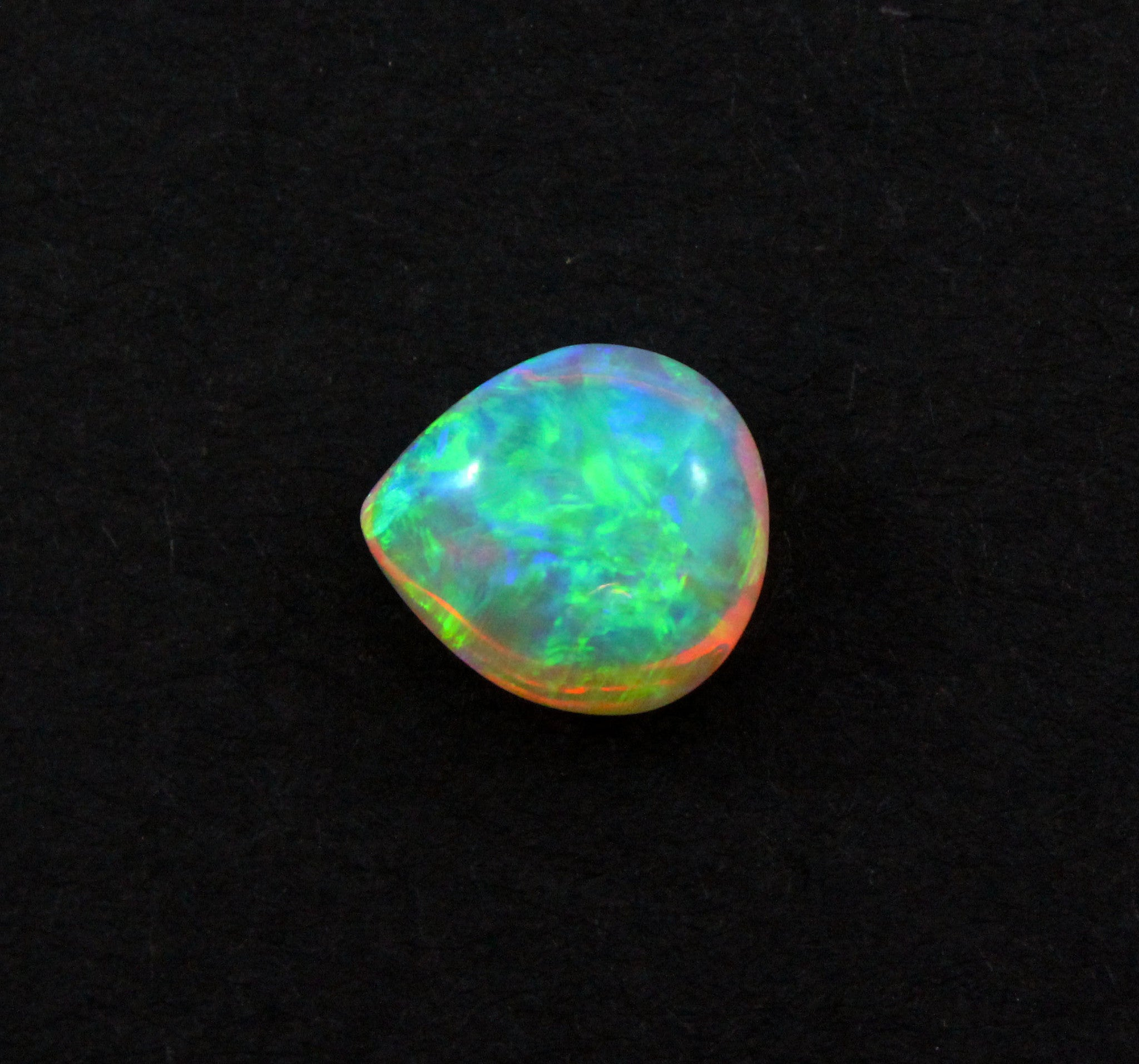 Australian jelly opal 3.36 carat loose gemstone - Double sided loose gemstone - Sarah Hughes - 2