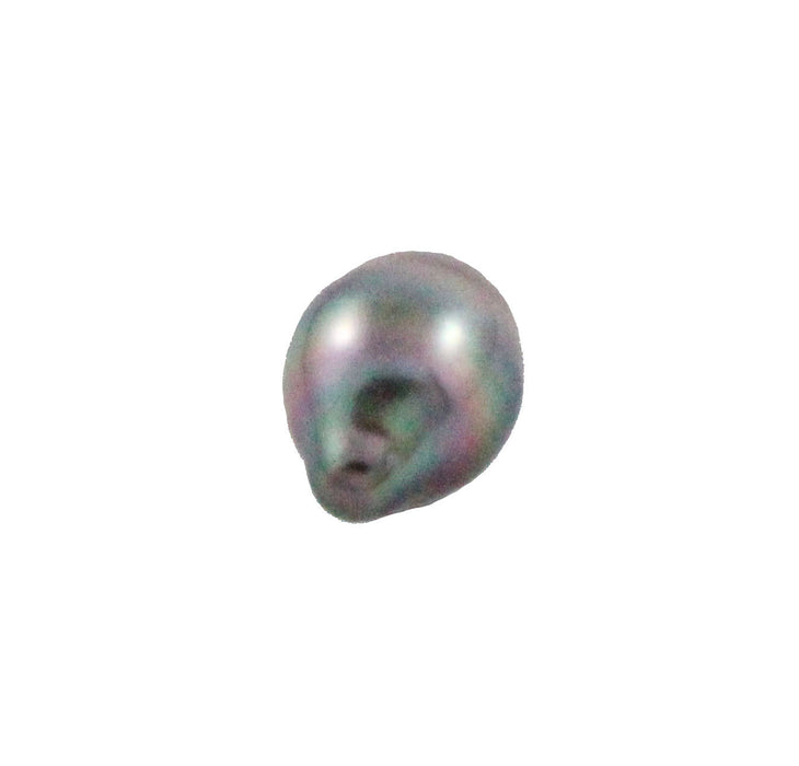 Tahitian pearl undrilled 0.85gr 10.4x8mm - Purchase only with custom order - Sarah Hughes - 3