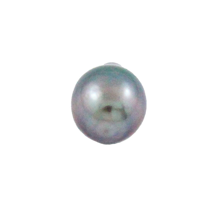 Tahitian pearl undrilled 0.85gr 10.4x8mm - Purchase only with custom order - Sarah Hughes - 5