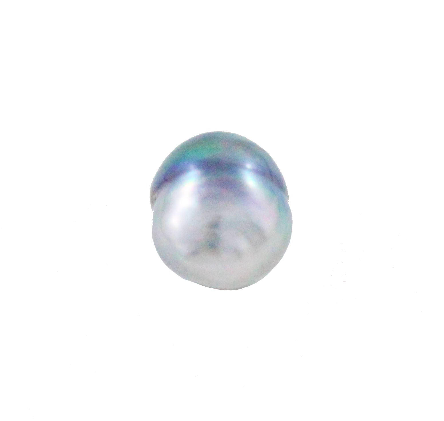 Tahitian pearl undrilled 0.89gr 10.22x8.26mm - Purchase only with custom order - Sarah Hughes - 3