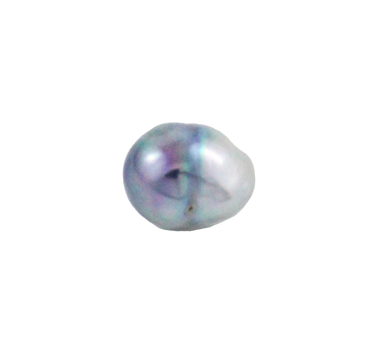 Tahitian pearl undrilled 0.89gr 10.22x8.26mm - Purchase only with custom order - Sarah Hughes - 4