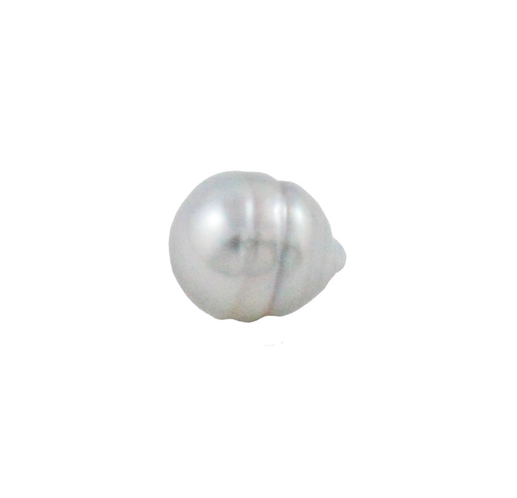 Tahitian pearl undrilled 0.90gr mm 9.97x8.19mm - Purchase only with custom order - Sarah Hughes - 4