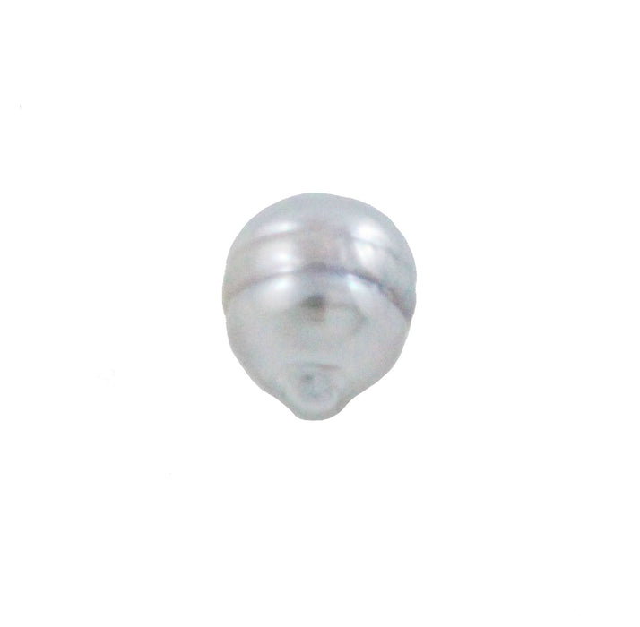 Tahitian pearl undrilled 0.90gr mm 9.97x8.19mm - Purchase only with custom order - Sarah Hughes - 5