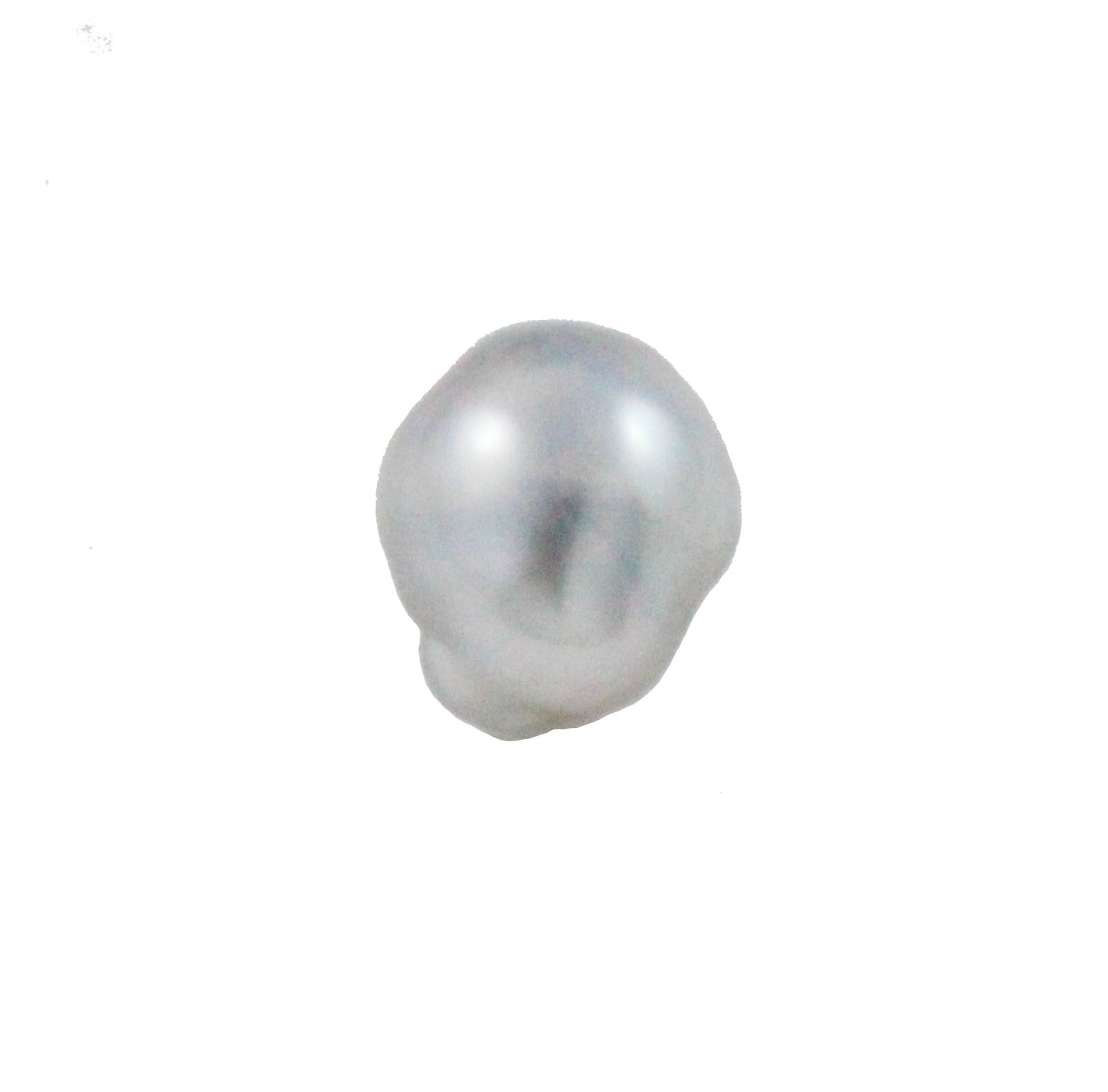 Tahitian pearl undrilled 0.93gr mm 9.88x8.37mm - Purchase only with custom order - Sarah Hughes - 2