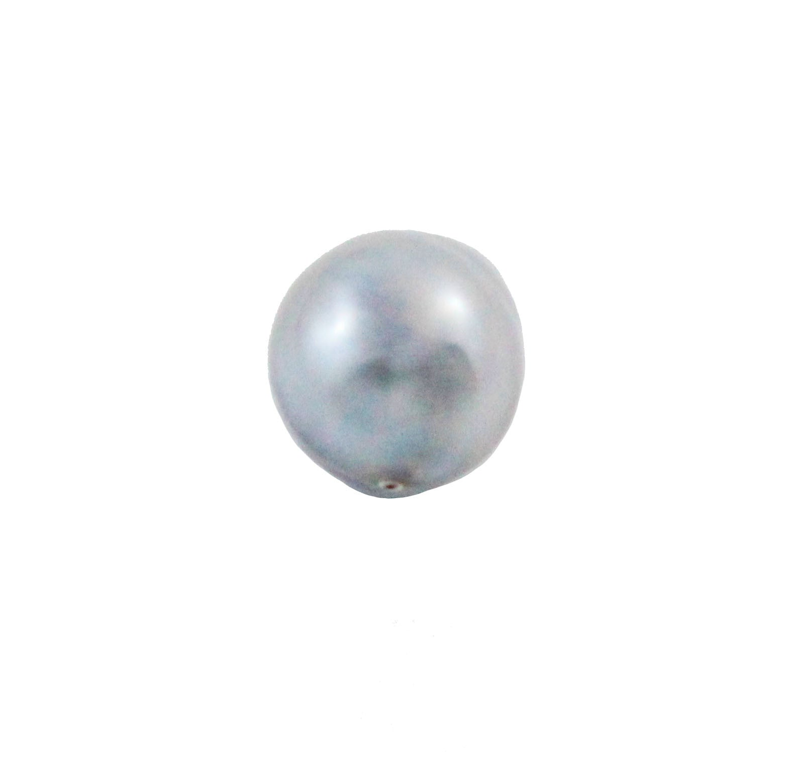 Tahitian pearl undrilled 0.93gr mm 9.88x8.37mm - Purchase only with custom order - Sarah Hughes - 4