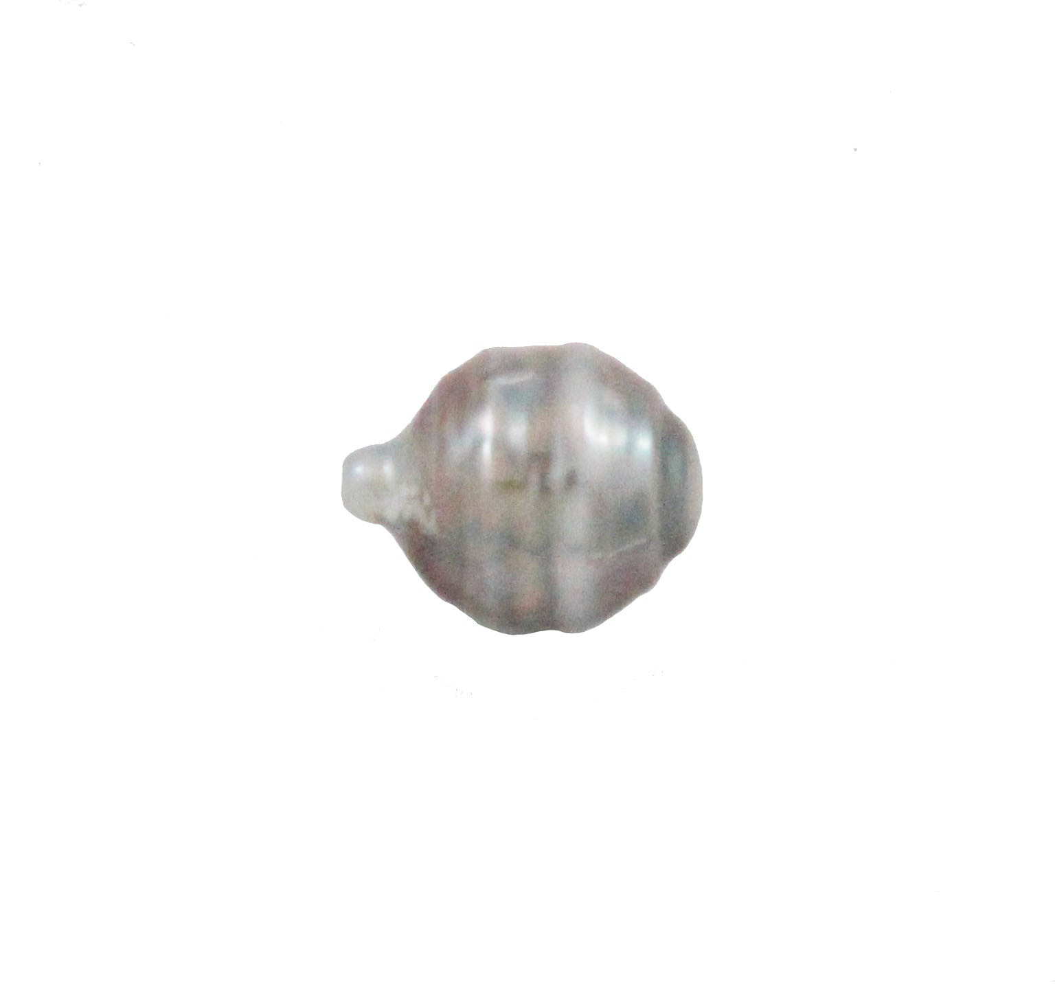 Tahitian pearl undrilled 0.94gr mm 11.11x8.64mm - Purchase only with custom order - Sarah Hughes - 2