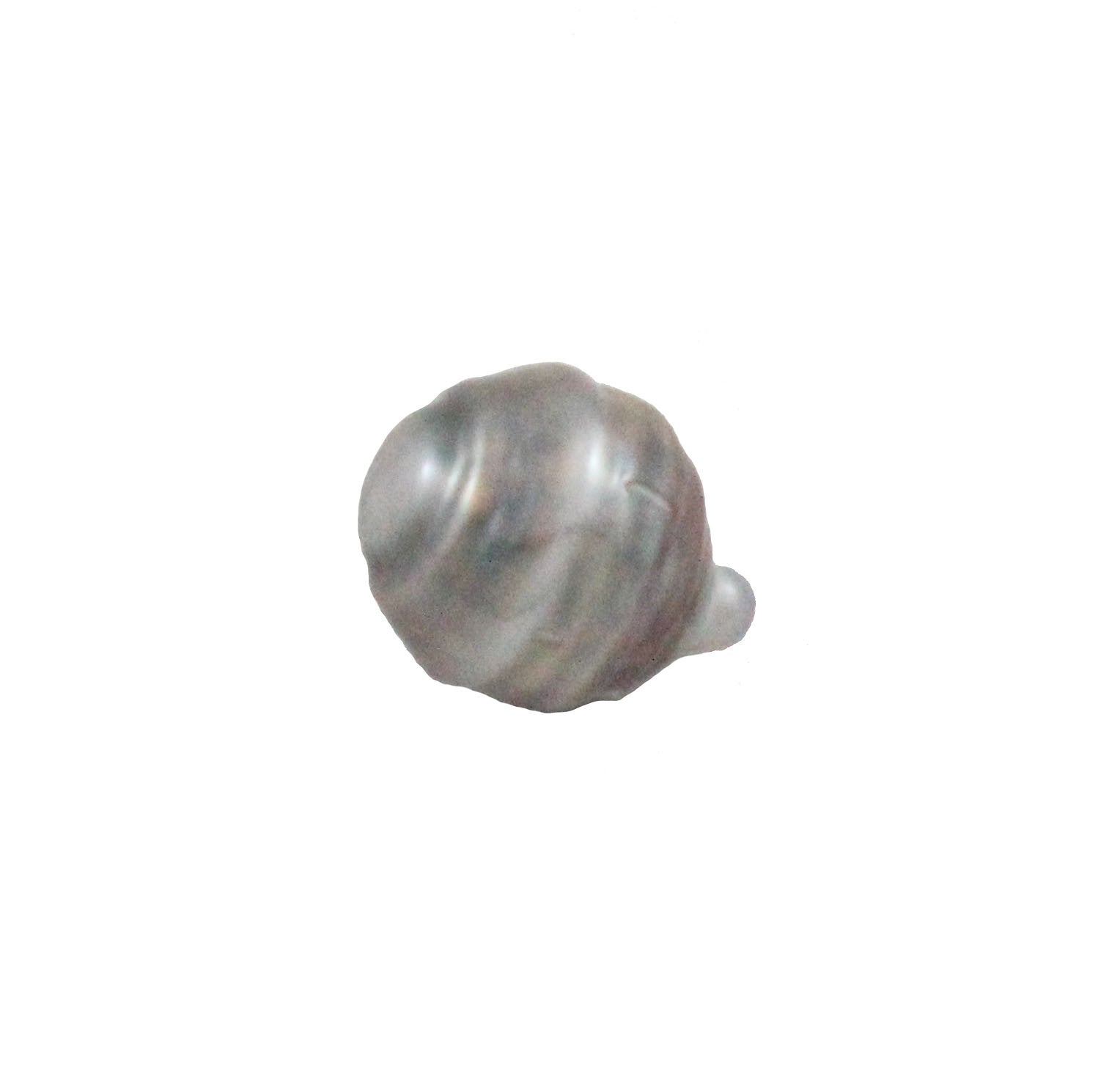 Tahitian pearl undrilled 0.94gr mm 11.11x8.64mm - Purchase only with custom order - Sarah Hughes - 4