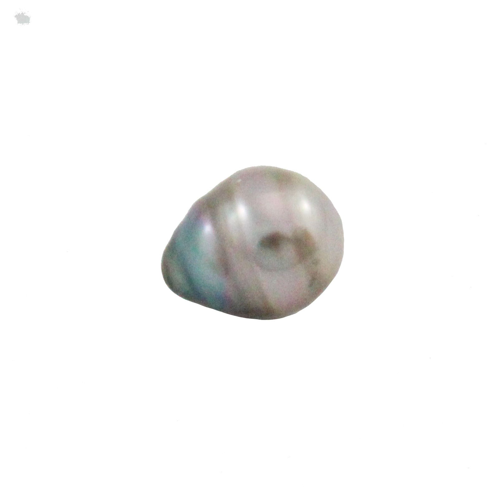Tahitian pearl undrilled 0.95gr mm 10.26x8.26mm - Purchase only with custom order - Sarah Hughes - 4