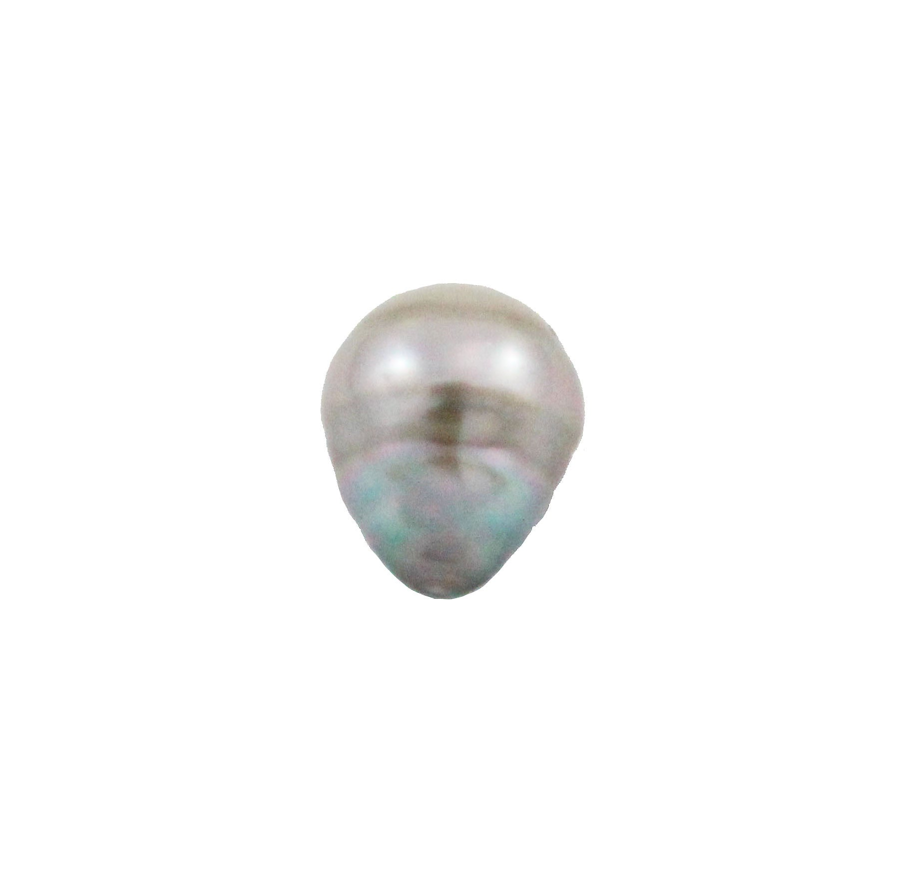 Tahitian pearl undrilled 0.95gr mm 10.26x8.26mm - Purchase only with custom order - Sarah Hughes - 5